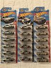 Lot of 18 Hot Wheels 2018 walmart Zamac Ford 69 Mustang 49 f1  Porsche 9345