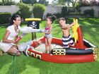 H2OGO Inflatable Pirate Play Pool Center Swimming Float Kids Raft