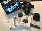 Canon EOS Rebel SL1 100D 180 MP Digital SLR Camera Black Kit w EF S 18 55