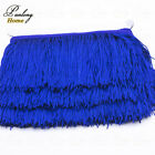 10ydslot 9cm Chainette Fringe Dance Costume Lamp Diy Curtain Tassel Lace Trim