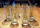 6 Mid Century GREGORY DUNCAN Bamboo highball glasses