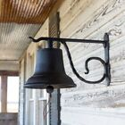 FABULOUS VINTAGE FARMHOUSE STYLE LARGE HANGING CAST IRON DINNER BELL