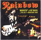 RAINBOW Monsters of Rock GRAHAM BONNET Roger Glover & Don Airey Autograph SIGNED