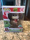 12 Days Of Xmas Funko Exclusive Pop Black & White Santa Grinch Sold Out! In Hand