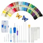 Embroidery Thread Needle Pen Kit Craft Punch Magic Diy Knitting Tool Pen Box Us