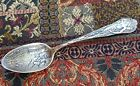Vtg Old Antique Grand Canyon Arizona Indian Chief Sterling Silver Souvenir Spoon
