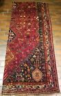 VINTAGE OLD COLLECTIBLE 100% WOOL  ESTATE WORLD RUG 3.1X7FT B98