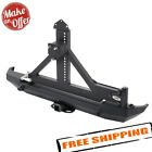 Smittybilt XRC Rear Bumper with Tire Carrier for 1987 2006 Jeep Wrangler YJ TJ
