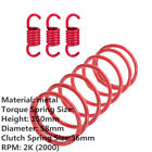 Metal Red 2K RPM Torque Clutch Spring for 157QMJ 4 stroke engine GY6 125cc/150cc
