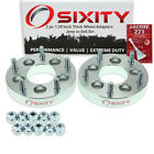 2pc 5x45 to 5x55 Wheel Spacers Adapters 125 for Jeep Comanche Grand ea