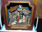 Light Up Nativity Scene in a Book Bible Battery Operated Brand New