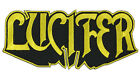 Authentic LUCIFER Band Logo Sew Glue Iron On Patch 5 x 2 NEW