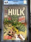 Incredible Hulk #102 CGC 6.0. Continued From Tales To Astonish #101