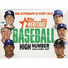 2013 Topps Heritage High Number Series Baseball Factory Set MINT SEALED NEW