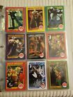 Lot Of 9 Mego Museum Trading Cards With King Arthur Black Knight Error Card