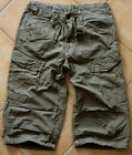 G-STAR Cargo Shorts | Rovic RD Surfer Pant | Army Green Military GStar Hose  W29
