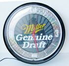 Neon Wall Clock for Your Man Cave MILLER GENUINE DRAFT