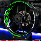 Wheel Rim Stripes Tape Decals zx6r zx10r 14r ninja zx 6 10 r z Kawasaki 300 650