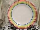 Fiesta Ware  WHITE  SIGNATURE  LINES  Luncheon  Plate  9 inch  NWT