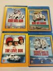 Herbie the Love Bug Rides Again Monte Carlo Goes Bananas 4 Movies Bluray Lot NEW