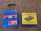 Vintage Lesney Matchbox lot Case in Box 1968 Deluxe with redline cars