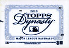 2015 Topps Dynasty Baseball Hobby Box -1 Auto Or Cut Signature #ed To 10 Or Less