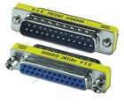 Lot600 DB25 Male Female Parallel Serial RS232 Port Saver Gender Changer Adapter