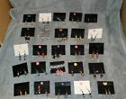 Hand Made Earrinngs - Fashion - Lot  - 76 Earings - 10 - Necklaces -Resale Store