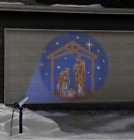 NATIVITY HOLY FAMILY LED LIGHT SHOW PROJECTOR Outdoor Yard Christmas Decoration
