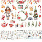 Santa Claus Christmas Self adhesive DIY Album Scrapbooking Stickers Diary Decor