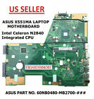 X551MA Main Board Motherboard for ASUS Laptop REV 20 Intel N2840 CPU US LOC A