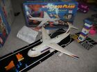 Vintage Mattel Hot Wheels Cargo Plane Playset complete w Runway and tower + box