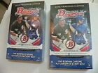 2014 Bowman Hobby Baseball 2 box lot - 2 clean hobby boxes