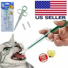 Dog Medicine Pill Gun Popper Piller Pusher Feed Cat Medication Syringe Pet Tool