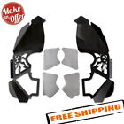 Poison Spyder 17 02 080VP1 Vented Inner Fender Kit for 07 17 Jeep Wrangler JK