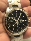 AUTHENTIC - TAG HEUER LINK CAT2010.BA0952 SWISS AUTOMATIC CHRONOGRAPH WATCH