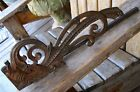 Antique Architectural Bracket Salvage Eastlake Aesthetic Vintage Curtain Holder