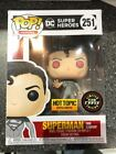 SUPERMAN FLASHPOINT CHASE VARIANT Funko Pop Heroes #251 Hot Topic Exclusive NIB