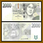 Czech Republic 2000 2000 Korun 2007 P 26 violin Grape Woman Unc