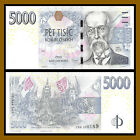 Czech Republic 5000 5000 Korun 2009 P 27 Slight corner wave TR LL AU