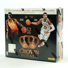 2017 18 Panini Crown Royale Basketball FACTORY SEALED Hobby Box Free S