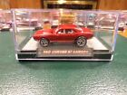 HOT WHEELS RALPHS CUSTOMS 67 CAMARO RED SPECTRAFLAME CHROME RIMS REAL RIDERS