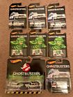 Hot Wheels Ghost Busters ecto 1  1a 2 pack ecto 1 Real Riders  Walmart lot 6