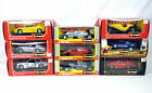 Lot 9 Bburago 1 24 Scale Die Cast Metal Cars Ferrari Porsche Bugatti BMW w Box