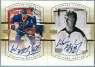 2000 UD THE MASTER COLLECTION CANADIAN LOT OF 2 WAYNE GRETZKY AUTO CG-1