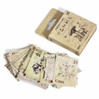 46pcs lot Vintage Stamps Stationery Decorative Notebook Diary Stickers