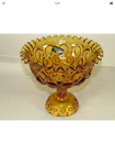Stars Footed Bowl Compote Dish