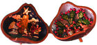 Nativity Scene Christmas Folk Art Latin America Shadow Box Diorama Gourd Music