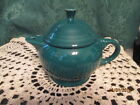 Fiesta Ware Retired EVERGREEN Green Two Cup Tea Pot