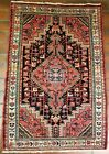GALLERY VINTAGE OLD COLLECTIBLE 100% WOOL ESTATE WORLD RUG 2.9X4.4FT G4